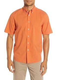 rag & bone Smith Short Sleeve Button-Down Shirt