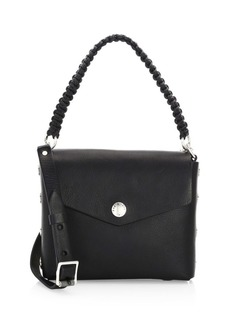 Rag & Bone Atlas Snap Concept Leather Shoulder Bag