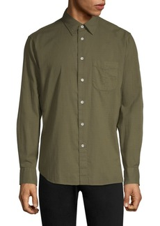 Rag & Bone Solid Beach Shirt