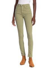 rag & bone Solid High Rise Skinny Jeans