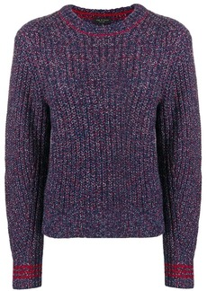 Rag & Bone speckled ribbed sweater