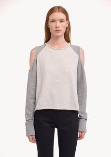 Rag & Bone STANDARD ISSUE SLASH PULLOVER