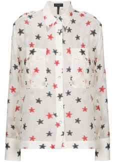 Rag & Bone star embroidered shirt