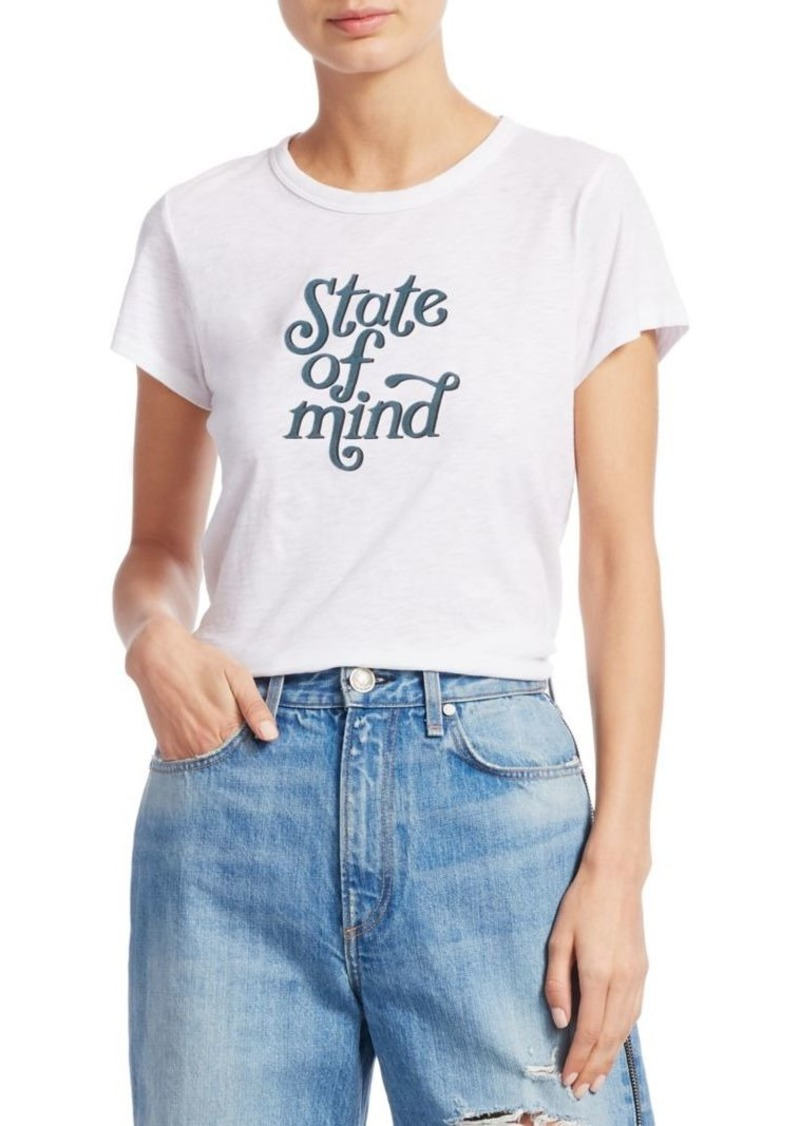 rag & bone State Of Mind Graphic Tee