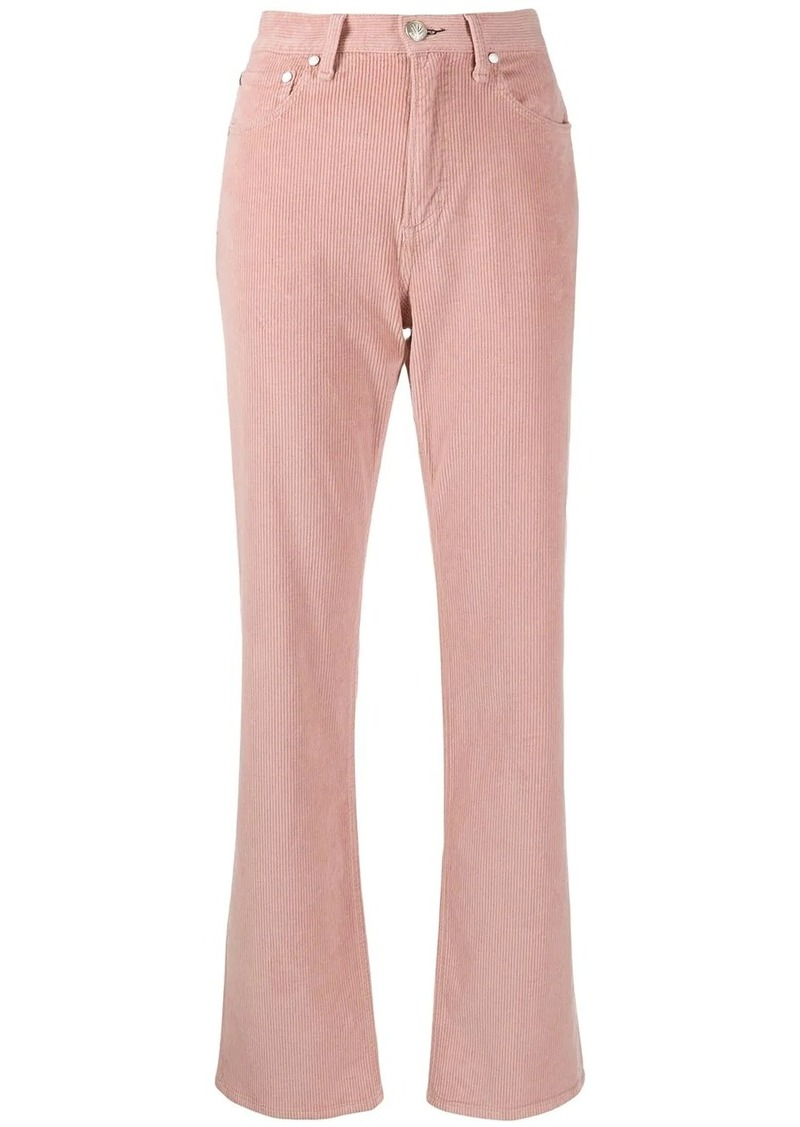 rag & bone straight-leg trousers