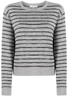 rag & bone stripe print jumper