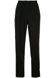 rag & bone stripe trim track pants