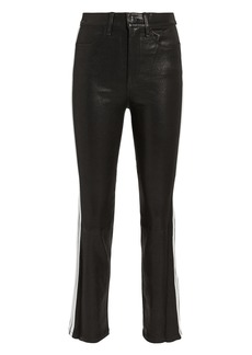 Rag & Bone Striped Cigarette Leather Pants