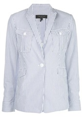 rag & bone striped fitted blazer