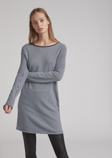 STRIPED KIT DRESS