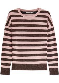 Rag & Bone Striped Metallic Pullover