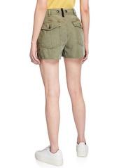 rag & bone Super High-Rise Army Shorts