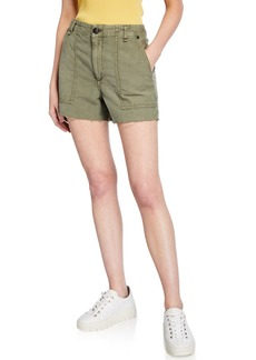 rag & bone Super High-Rise Army Shorts