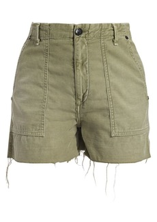 rag & bone Super High Rise Army Shorts