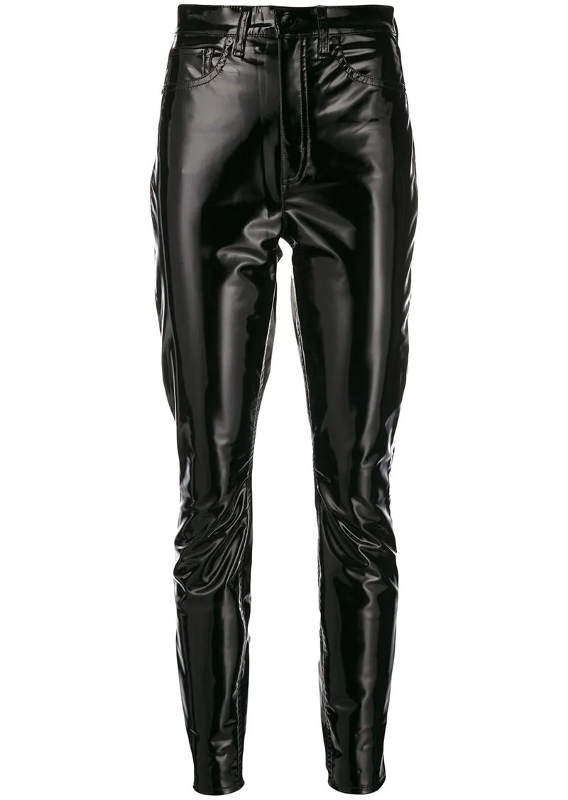 rag & bone super HR skinny trousers