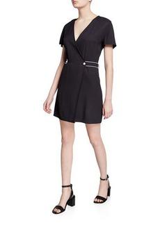 rag & bone Tabitha Short-Sleeve Wrap Dress