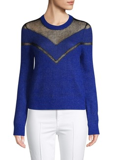Rag & Bone Textured Chevron Sweater