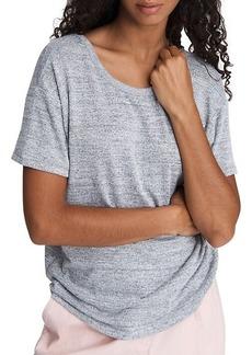 rag & bone The Knit Open-Back T-Shirt