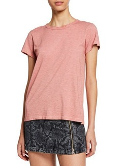 rag & bone The Tee Short-Sleeve Pima Crewneck Top