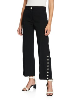 rag & bone Tia High-Rise Button Pants