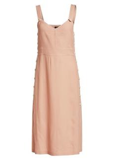 rag & bone Tia Sleeveless Button-Trimmed Dress