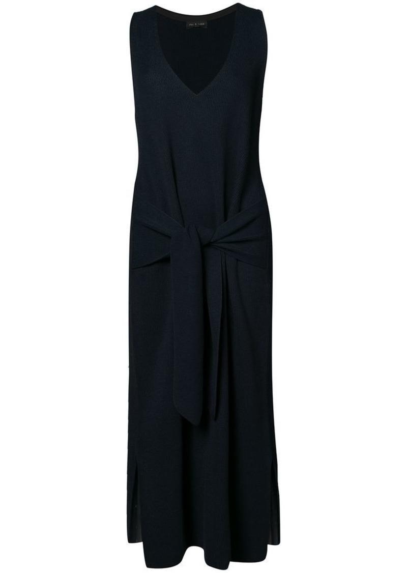 Rag & Bone tied waist dress