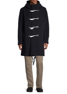 rag & bone Toggle Wool-Blend Coat