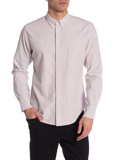 rag & bone Tomlin Striped Oxford Slim Fit Shirt