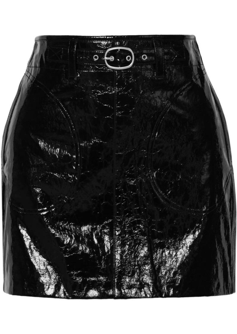 ad7a2c7a40 Rag & Bone Toni Patent-leather Mini Skirt | Skirts