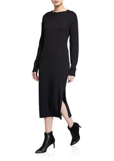 rag & bone Townes Long-Sleeve Midi Dress