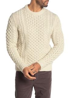rag & bone Trevor Reflective Cable Knit Sweater