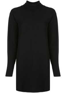 rag & bone turtle neck jersey short dress