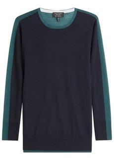 Rag & Bone Two-Tone Cashmere Pullover