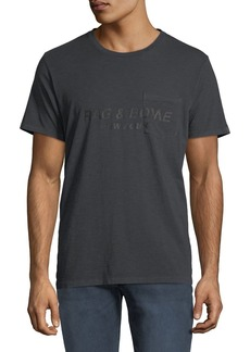 Rag & Bone Upside Down Graphic T-Shirt