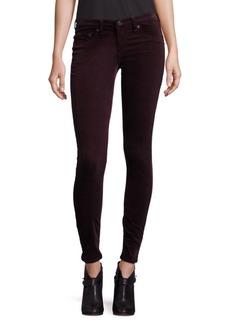 Rag & Bone Velvet Skinny Jeans