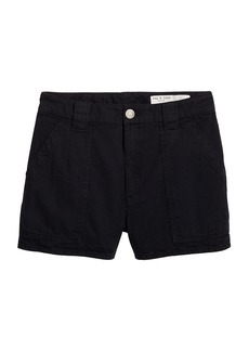 rag & bone Venice High-Waist Cotton Shorts