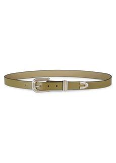 rag & bone Ventura Leather Belt