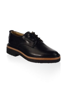 Rag & Bone Victor Leather Crepe Derbys