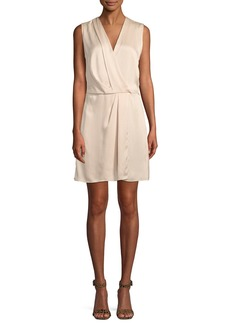 Rag & Bone Victor Sleeveless Silk Wrap Dress