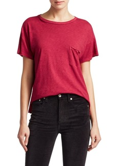 Rag & Bone Vintage Distressed Edge Tee
