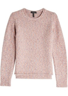 Rag & Bone Virgin Wool Pullover with Suede