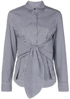 Rag & Bone waist-knot shirt