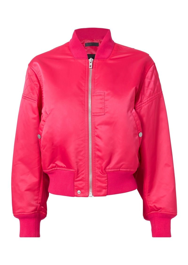 Rag & Bone Wesley Hot Pink Bomber