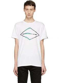 Rag & Bone White Diamond Glitch T-Shirt