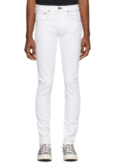 rag & bone White Fit 1 Standard Jeans