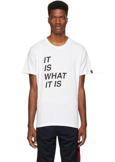 Rag & Bone White 'It Is What It Is' T-Shirt