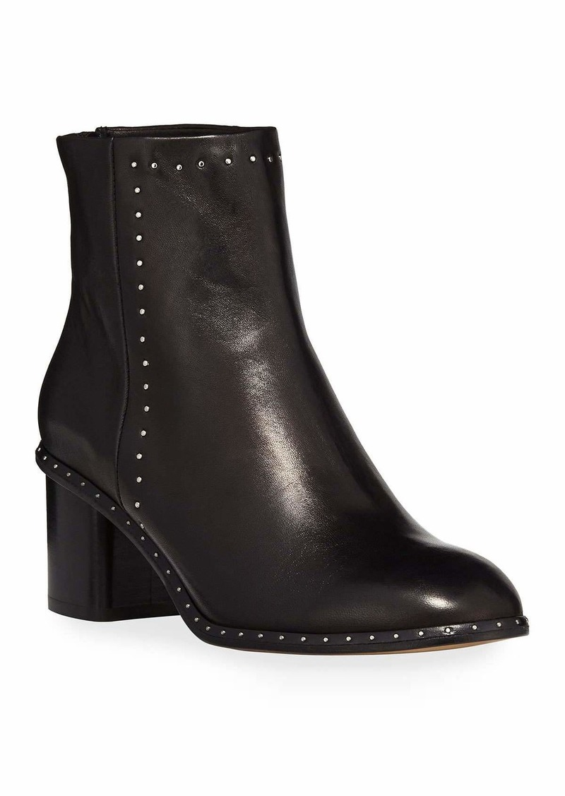 rag & bone Willow Studded 50mm Ankle Boots  Black
