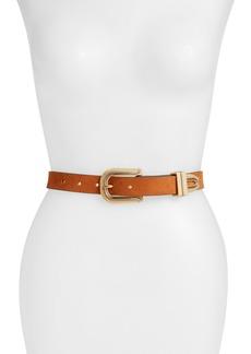 Women's Rag & Bone Ventura Suede Leather Belt