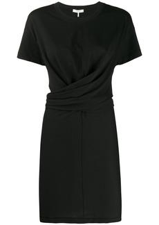 rag & bone wrap front T-shirt dress