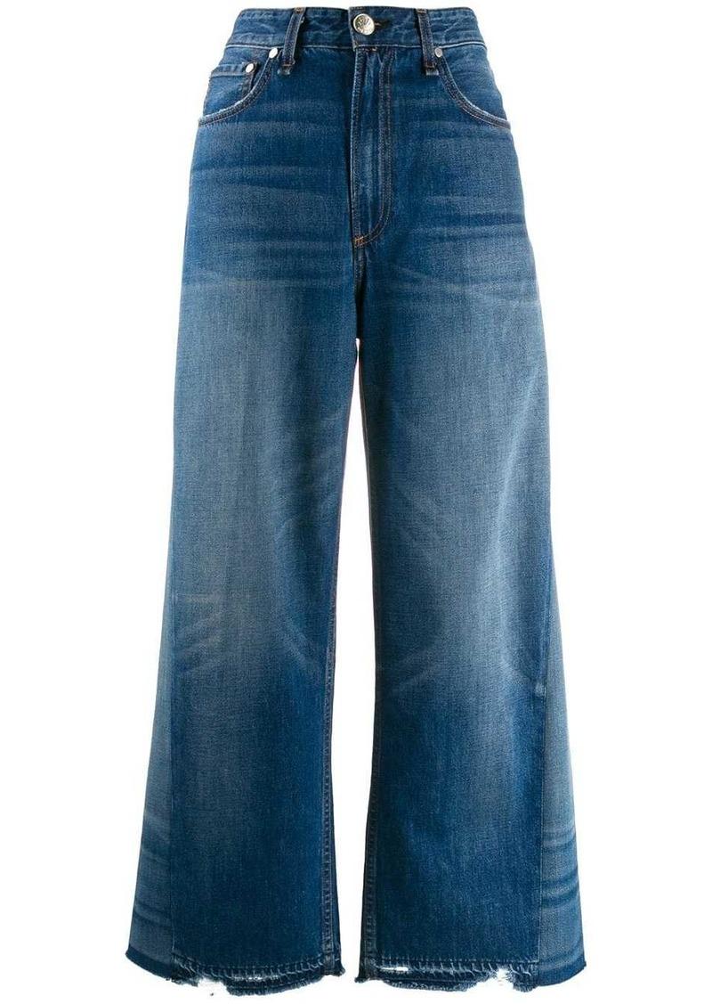 rag & bone Wyatt flared jeans
